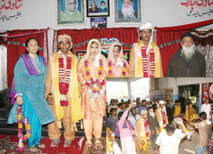 A great humanitarian Abdul Sattar Edhi Started a Marriage Bureau in Karachi
