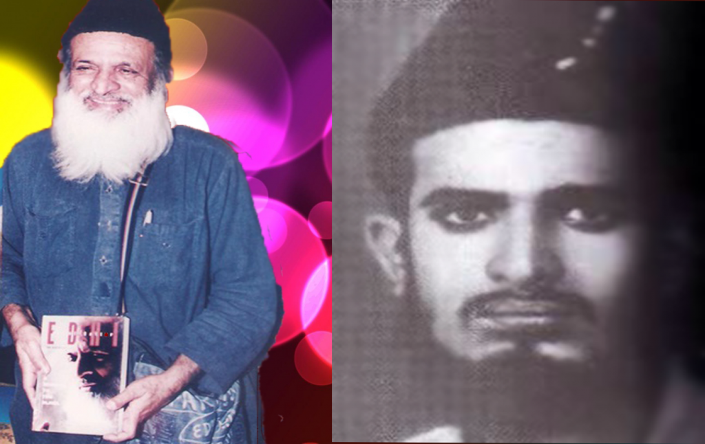 Abdul Sattar Edhi young and older age picture