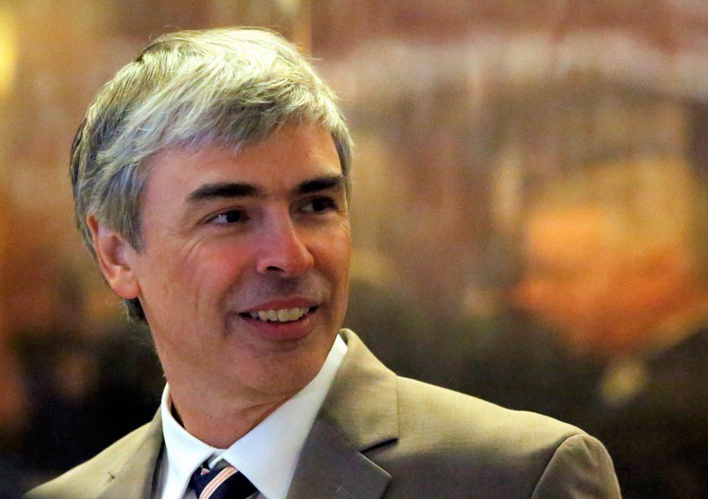 Alphabet leadership vacuum, Where is Larry Page