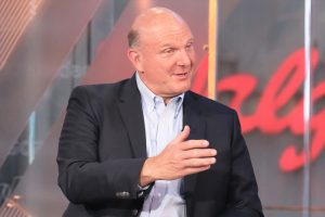 Billionaire Steve Ballmer started out making only $50,000 at Microsoft