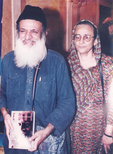 A Great Humanitarian Edhi Foundation founded by both Bilquis Edhi and Edhi