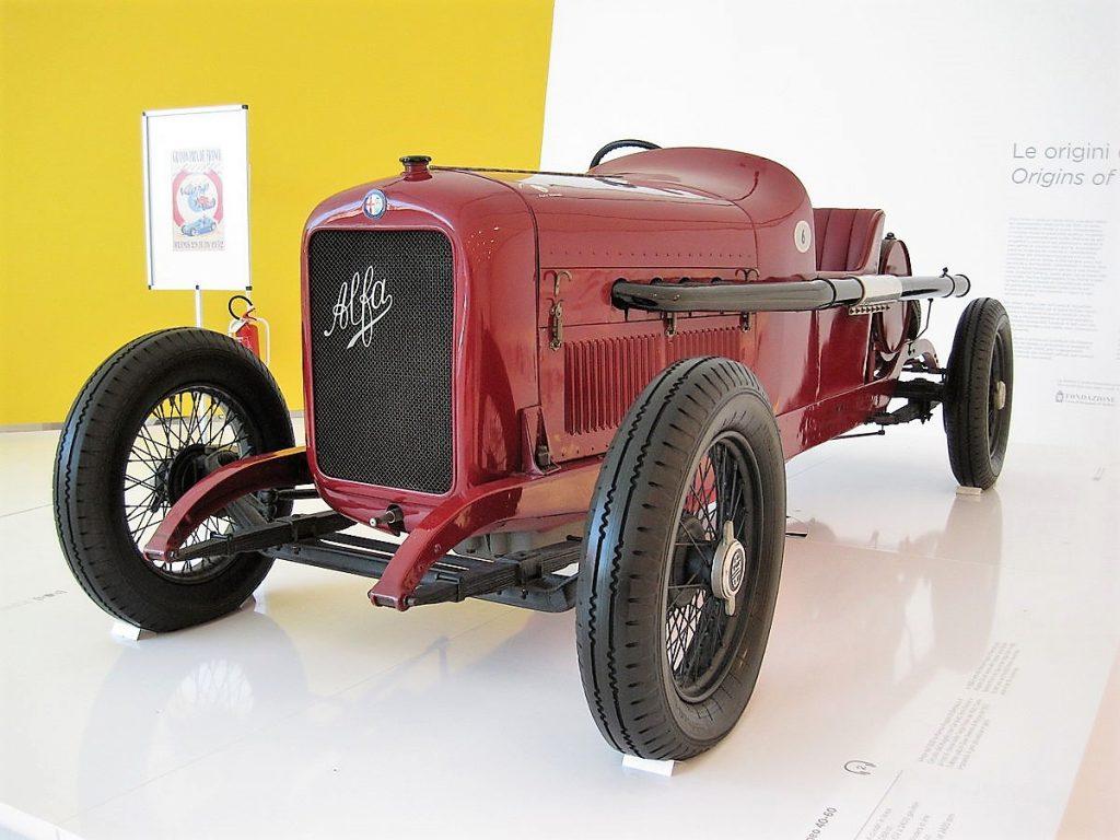 Car Musée Enzo Ferrari