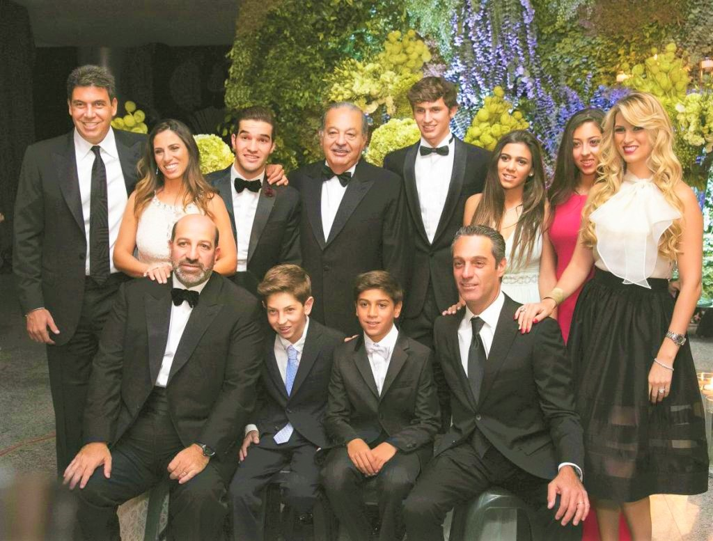 Carlos Slim Helu Family and their relationship