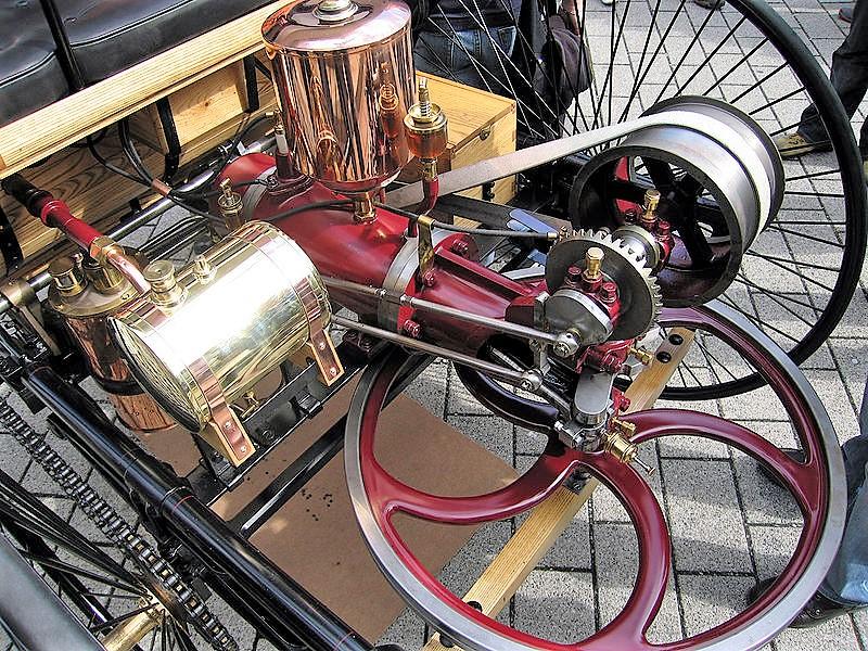 Engine of the Benz Patent Motorwagen