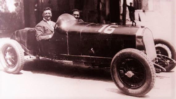Enzo Ferrari had dreams of being a racing driver himself.