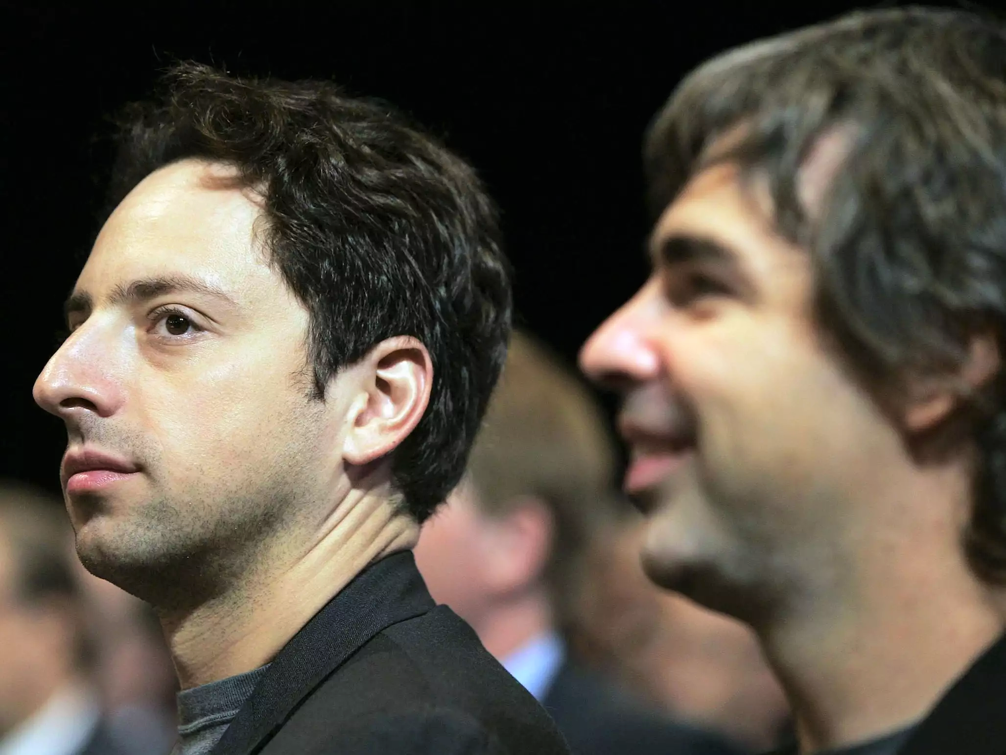 Google founders Larry Page and Sergey Brin are now worth more than 100 billion making them 2 of only 8 centimillionaires in the world
