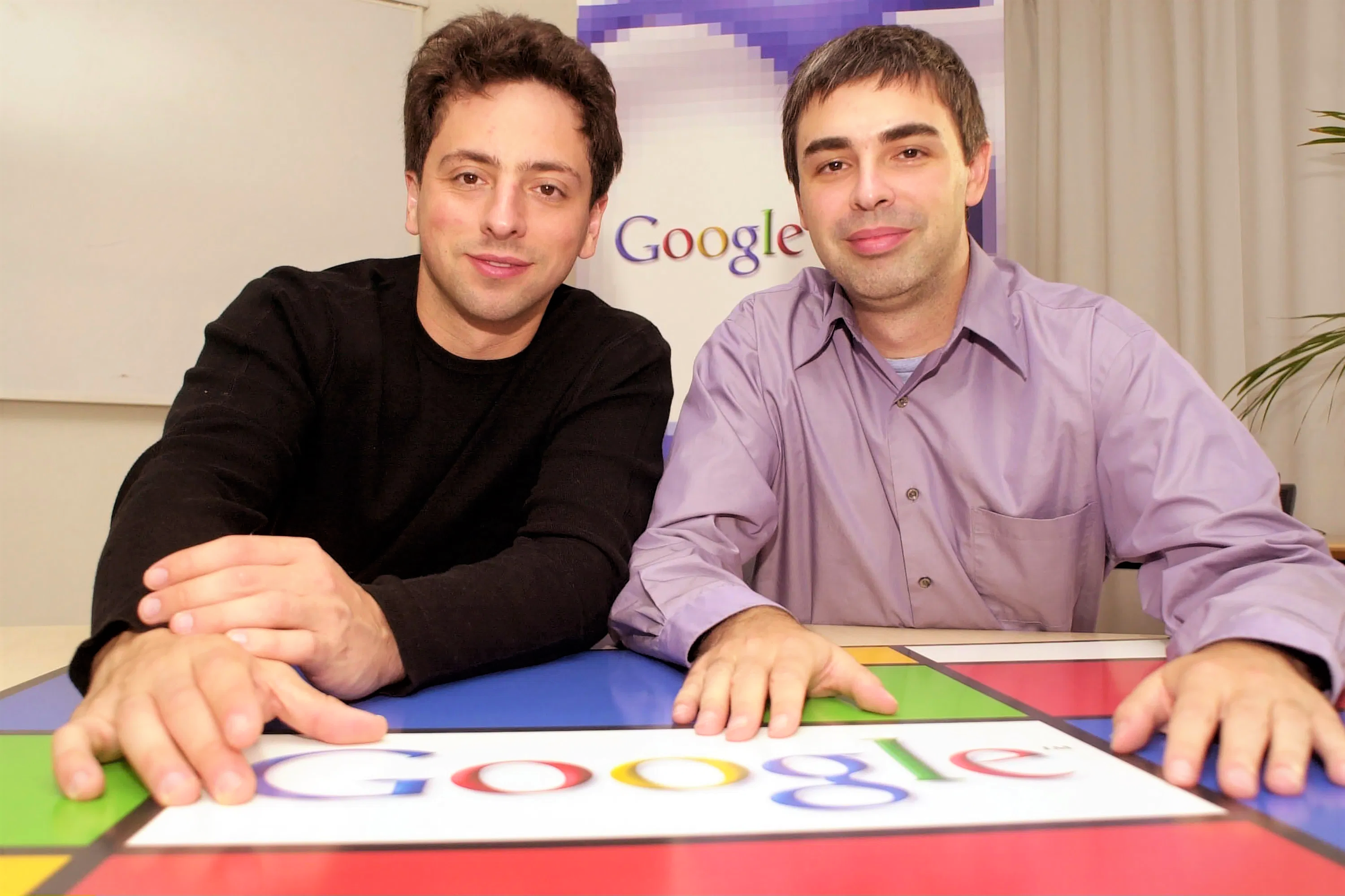 Google's Larry Page and Sergey Brin stepping down from top roles