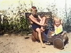 Ingvar-Kamprad in his childhood