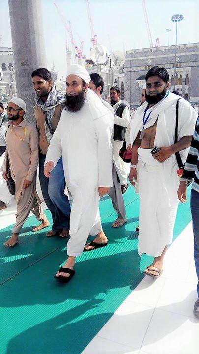 Islamic and Religious Maulana Tariq Jameel in Makkah