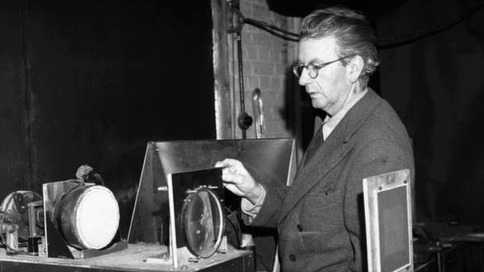 John Logie Baird recording saved television for the nation