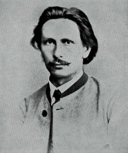 Karl Benz, 1869, 25 years old