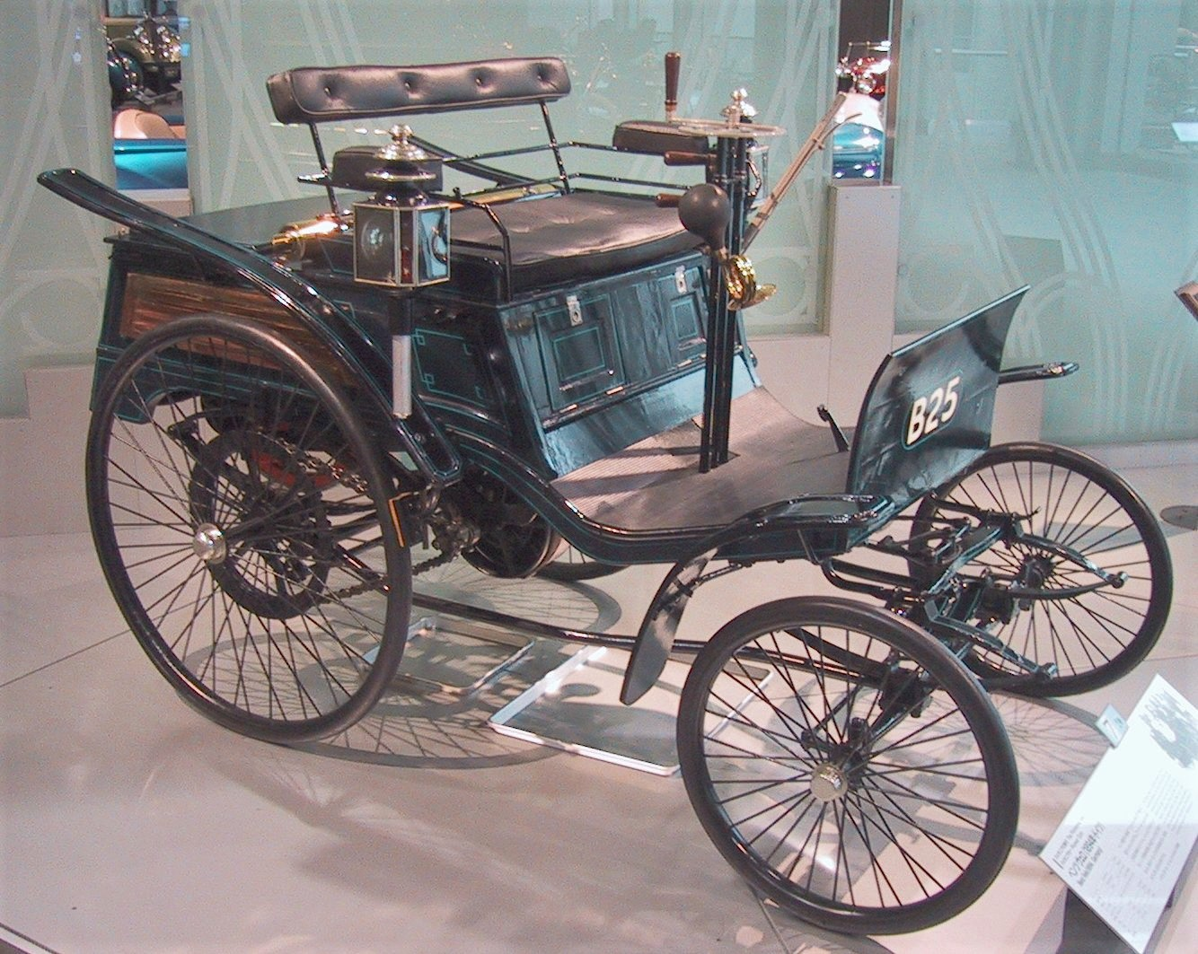 Karl Benz introduced the Velo in 1894, becoming the first production automobile
