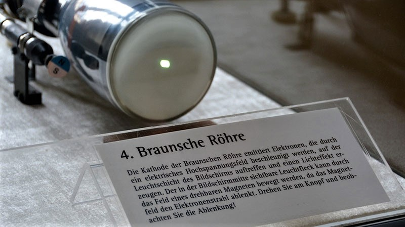 Karl Ferdinand Braun, inventor of the Cathode ray tube and Monitor