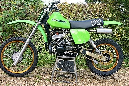 Kawasaki KX250 A5 1979 Twinshock Vintage MX