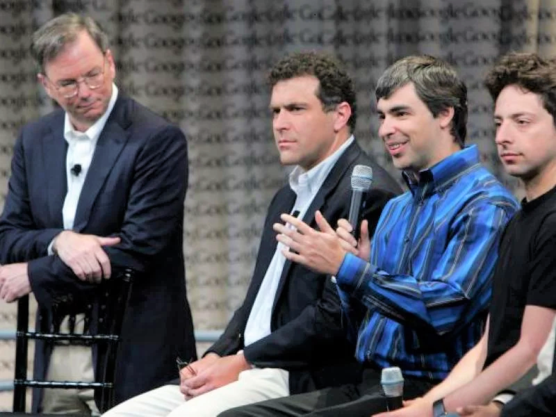 Larry Page and Sergey Brin No Longer Need 'Adult Supervision