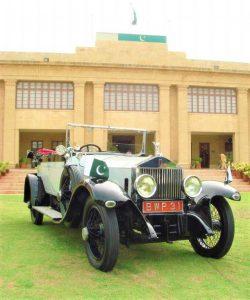 Quaid-e-Azam Muhammad Ali Jinnah's Royal's Royce car