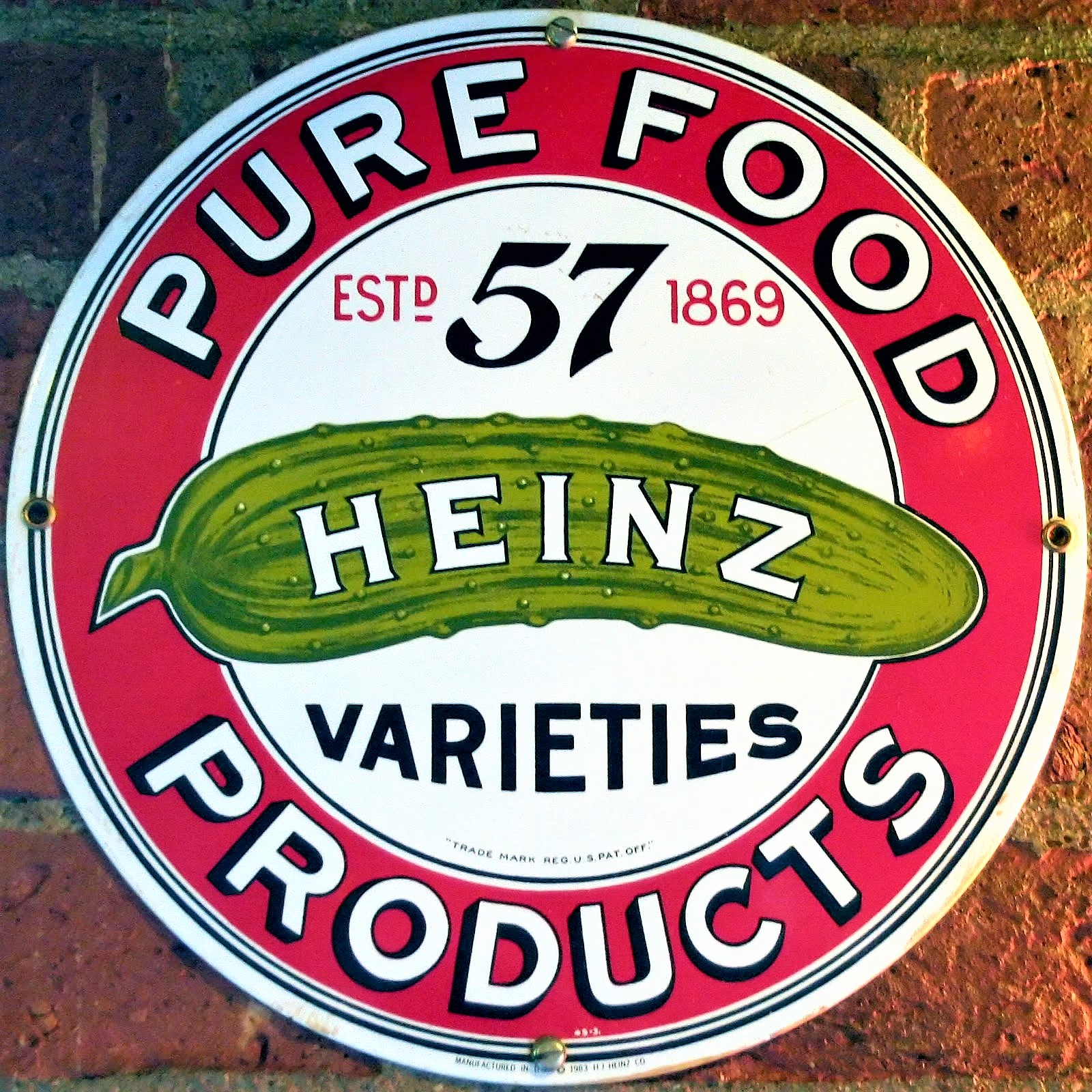 The 57 in 57 Varieties of Heinz Has No Real Meaning