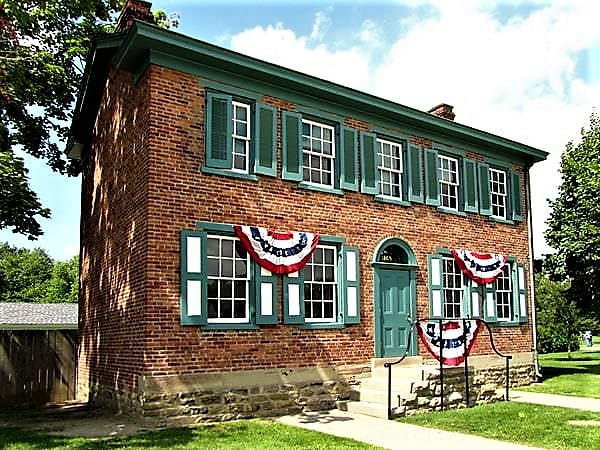 The Heinz House, in which they began, 1869.