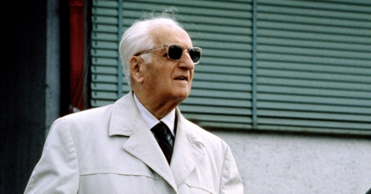 enzo ferrari became famous in the world due to his super cars