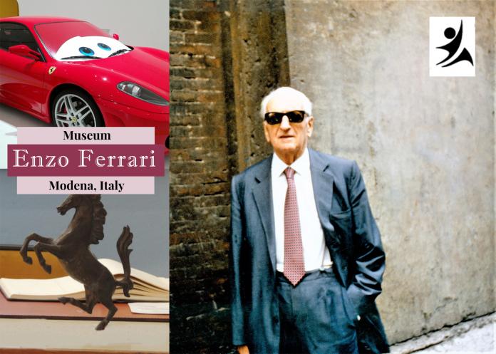 inventor of Ferrari, Enzo Ferrari
