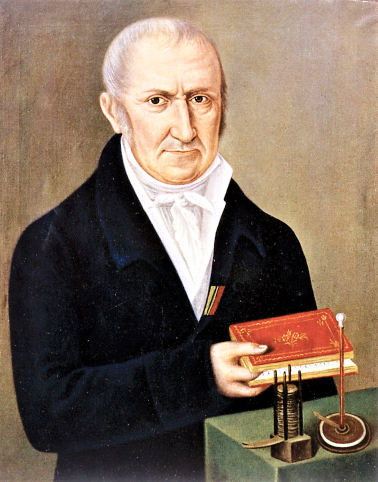 Alessandro Volta two inventions electrophorus battery