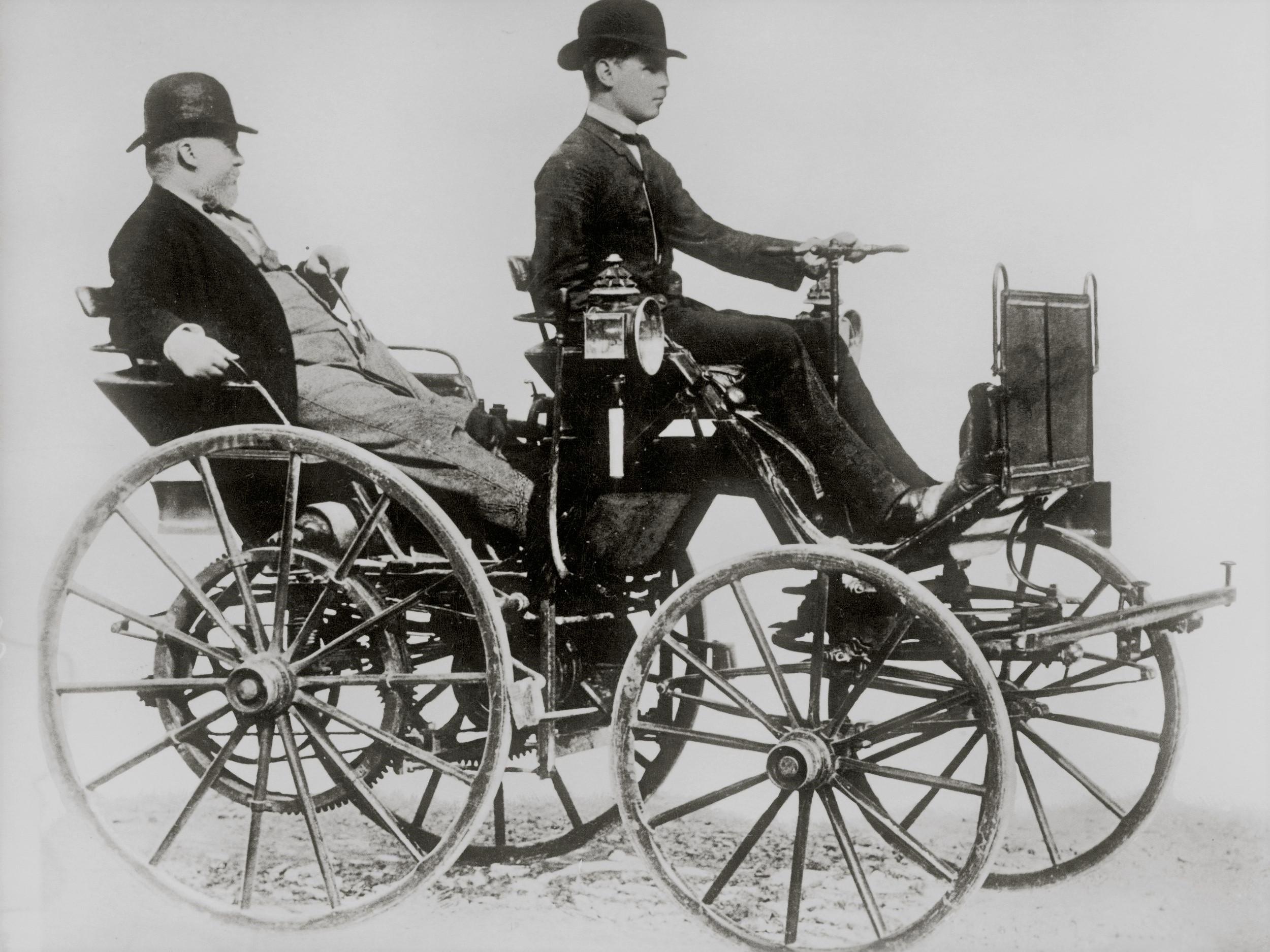 Automobile Inventor Gottlieb Daimler
