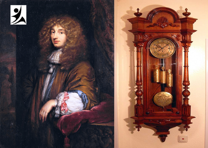 Christiaan Huygens , Inventor of Clock and the other inventions in his whole life