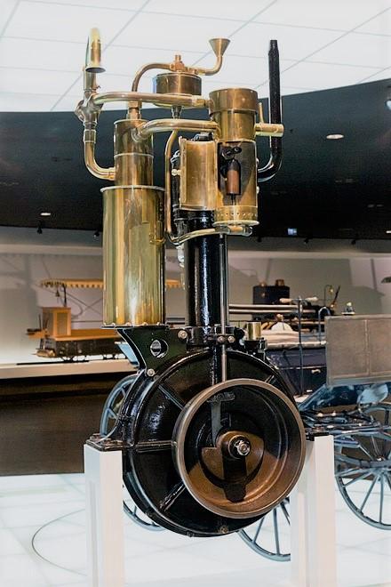 The 1885 Grandfather Clock Engine