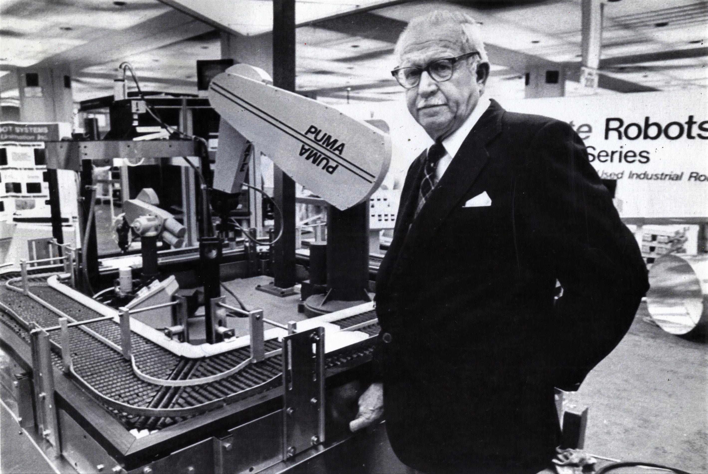 The Father Of Modern Robotics George Devol