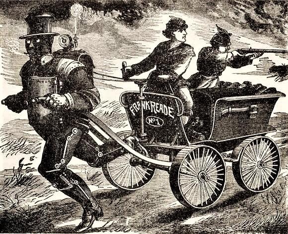 The Mysterious Boilerplate, a Victorian Era Robot