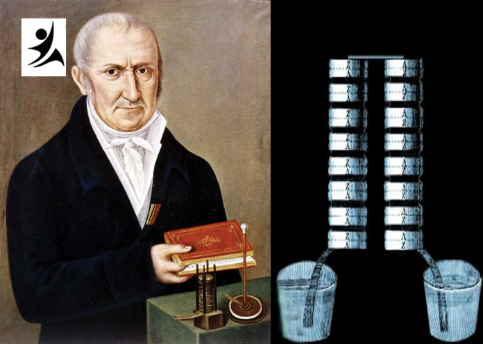 The inventor of electric cell