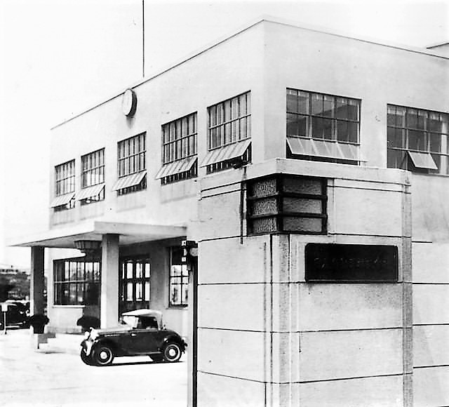 Nissan Motor Co.'s first main plant (today's Yokohama Plant), completed in 1934