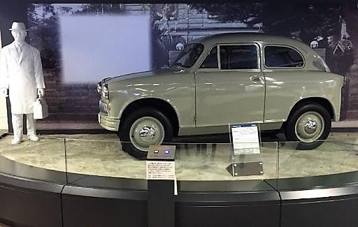 Suzuki Suzulight, the brand's first four-wheeled vehicle