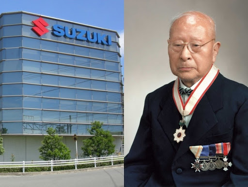 The Founder of the Suzuki always be remebered